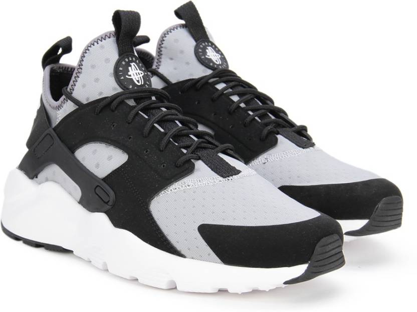Nike AIR HUARACHE RUN ULTRA Sneakers For Men - Buy WOLF GREY /WHITE ...