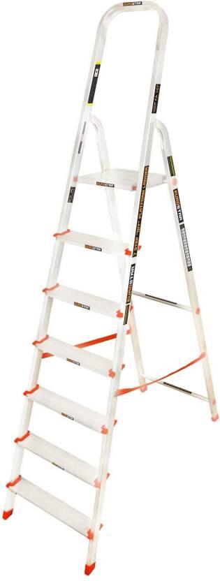 Eurostar Freiheit 6 step Aluminium Ladder(With Platform)