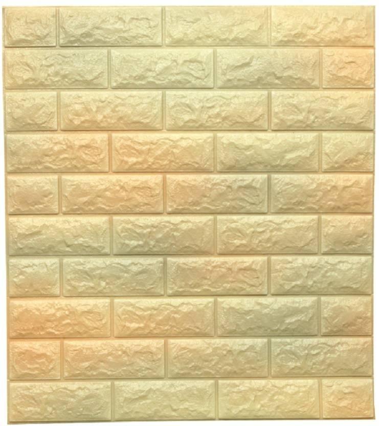 SAMPADA Medium New PE Foam Wall Stickers 3D Wallpaper DIY .Wall ...