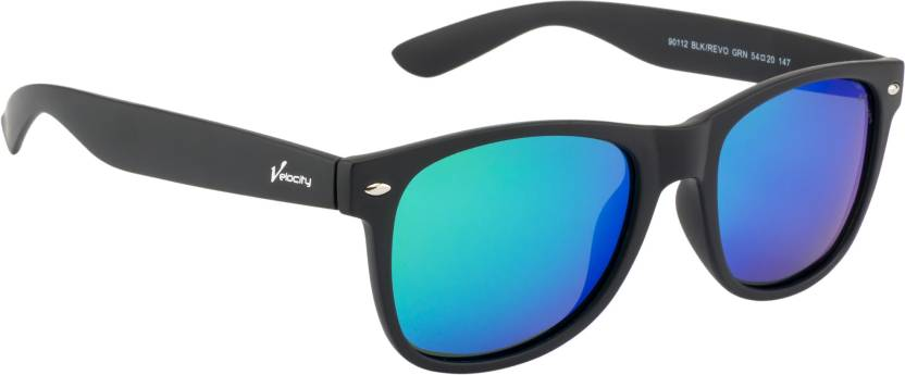76478fee01 Buy Velocity Wayfarer Sunglasses Blue For Men   Women Online   Best ...