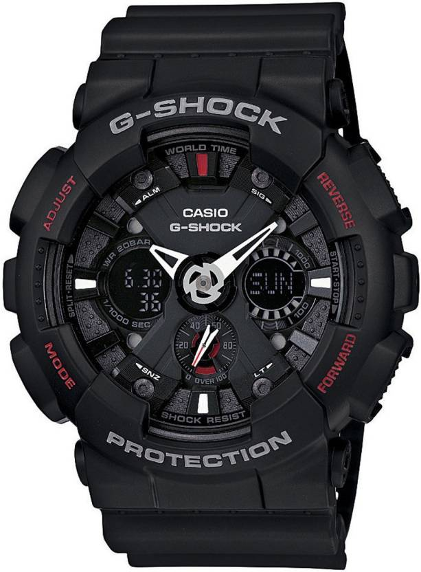 f68ea2c3bab CASIO G-SHOCK GA-120-1ADR (G346) Watch - For Men - Buy CASIO G-SHOCK  GA-120-1ADR (G346) Watch - For Men GA-120-1ADR (G346) Online at Best Prices  in India ...