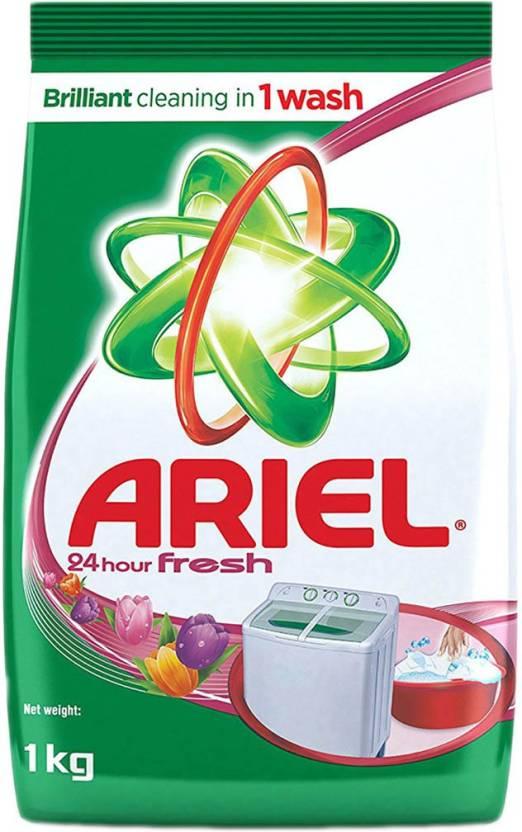 Ariel 24 Hour Fresh Washing Detergent Powder