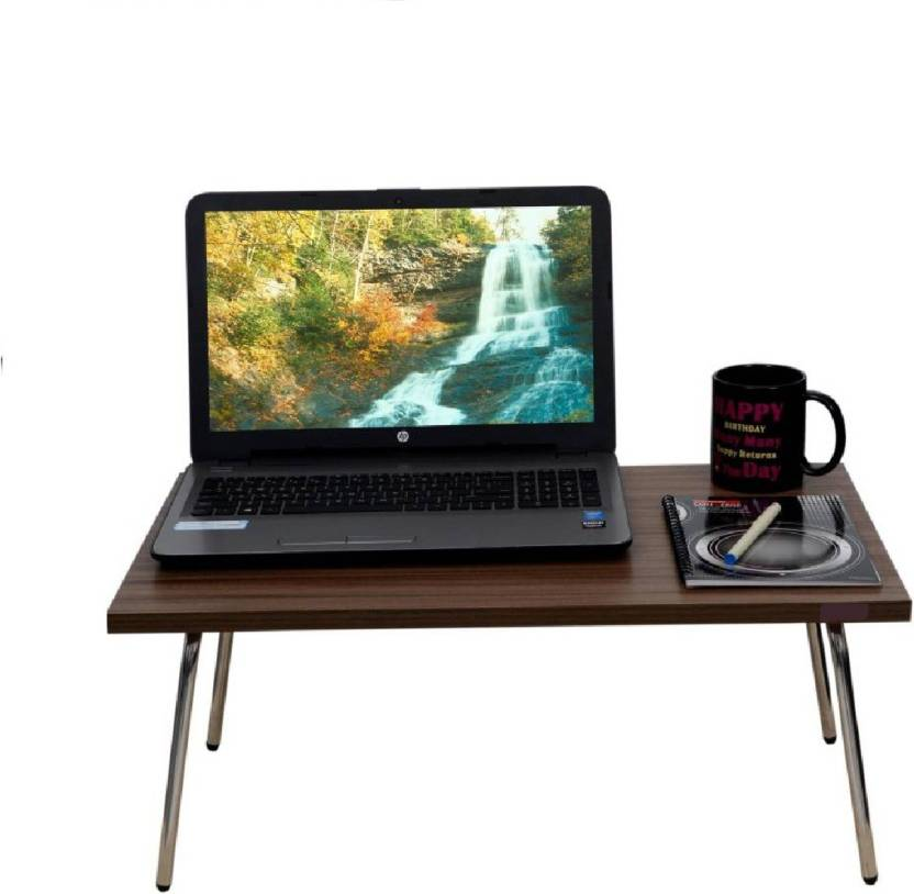 Ibs Riona Foldable Study Bed Heavy Duty Lap Desk Mate With Mouse Pad Wooden Wood Portable Laptop Table