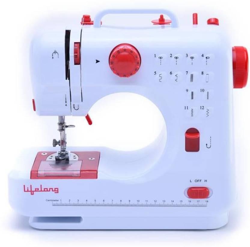 Lifelong SM40 Electric Sewing Machine Price In India Buy Lifelong Enchanting Sewing Machine Price Flipkart