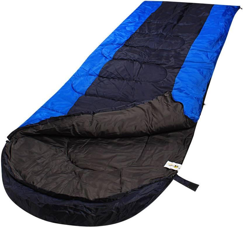 RuggedTrails All Season Waterproof Hooded Sleeping Bag (Single) Sleeping Bag