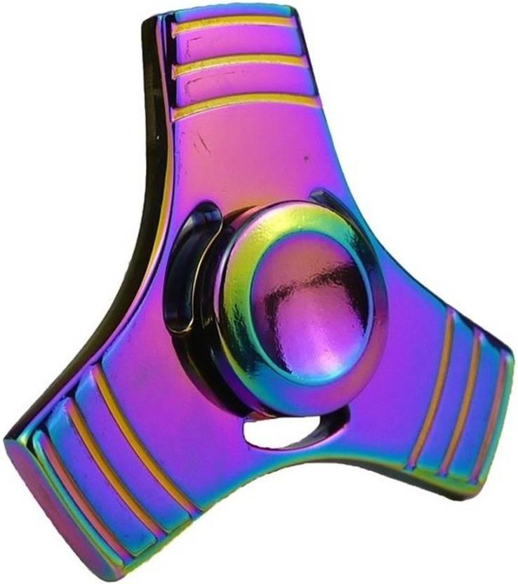 True Deal Metal Tri High Speed Spinner Fidget Toy Anti stress