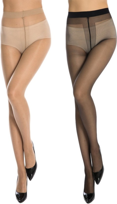Womens navy pantyhose
