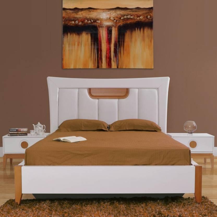 Evok Malta Engineered Wood King Hydraulic Bed Price In India Buy