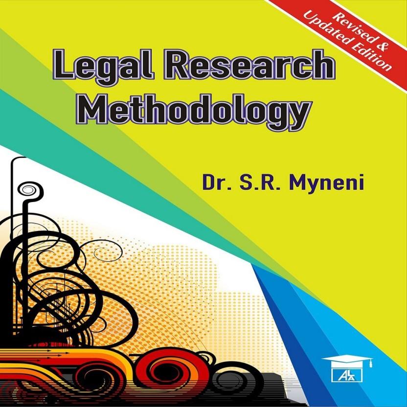 LEGAL RESEARCH METHODOLOGY INDIA PDF