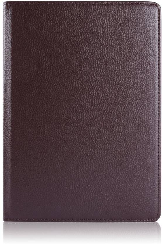 Rosaline Book Cover for Apple Ipad Pro 9.7 Inch 2016 Released Brown