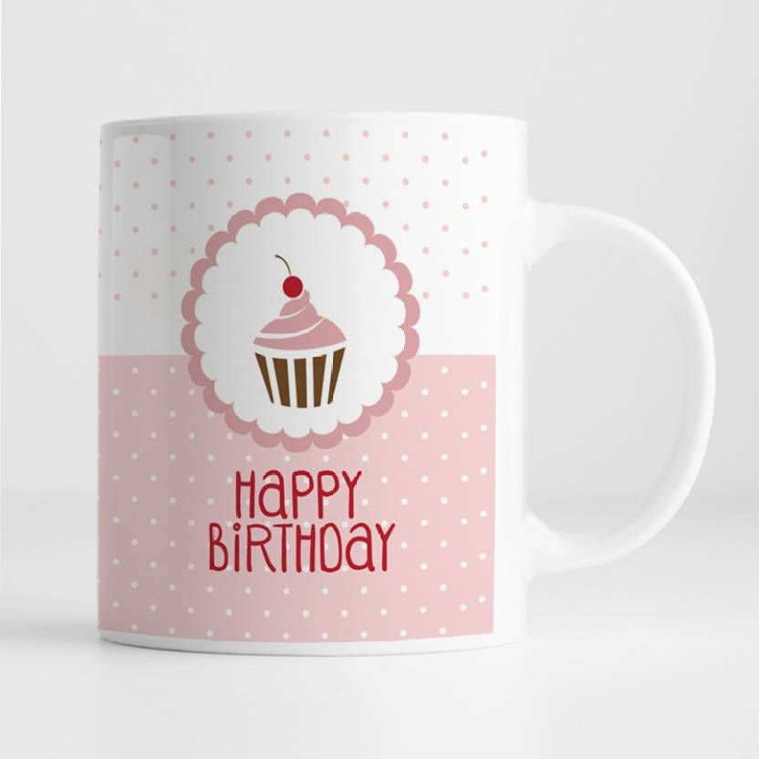 100yellow Gift For Brother Sister Friends Happy Birthday Printed Ceramic Coffee Mug