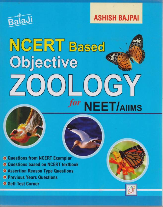 Ncert Based Objective Zoology For Neet / Aiims: Buy Ncert Based