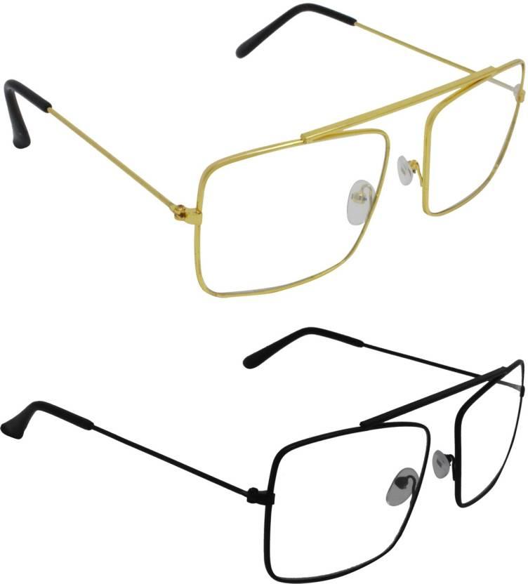 77f1159652 Buy Criba Retro Square Sunglasses Clear For Men   Women Online ...
