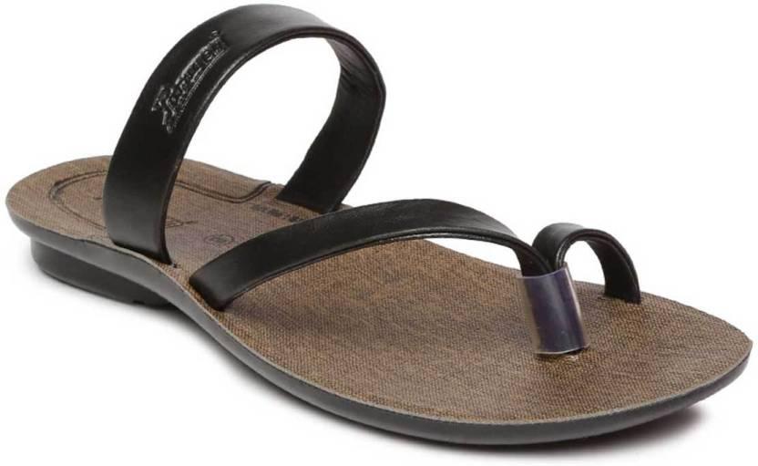 5b55cfb013af Paragon Men Black Sandals - Buy Paragon Men Black Sandals Online at Best  Price - Shop Online for Footwears in India