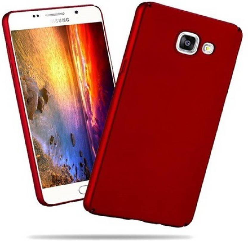 Ridhaniyaa Back Cover for Samsung Galaxy J7 Prime Red