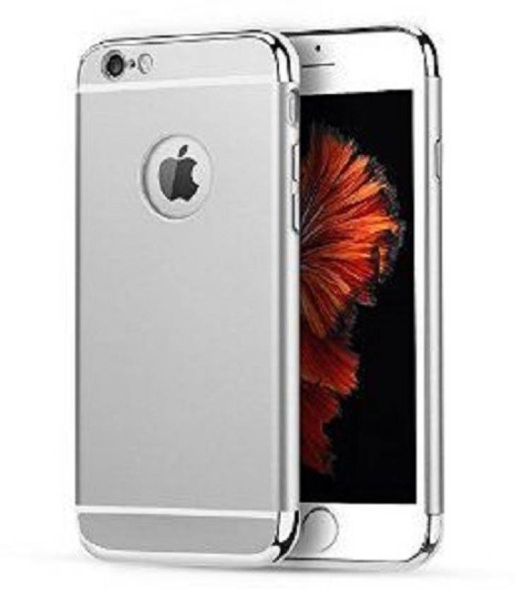 MagicHub Back Cover for Apple iPhone 6s Silver Chrome
