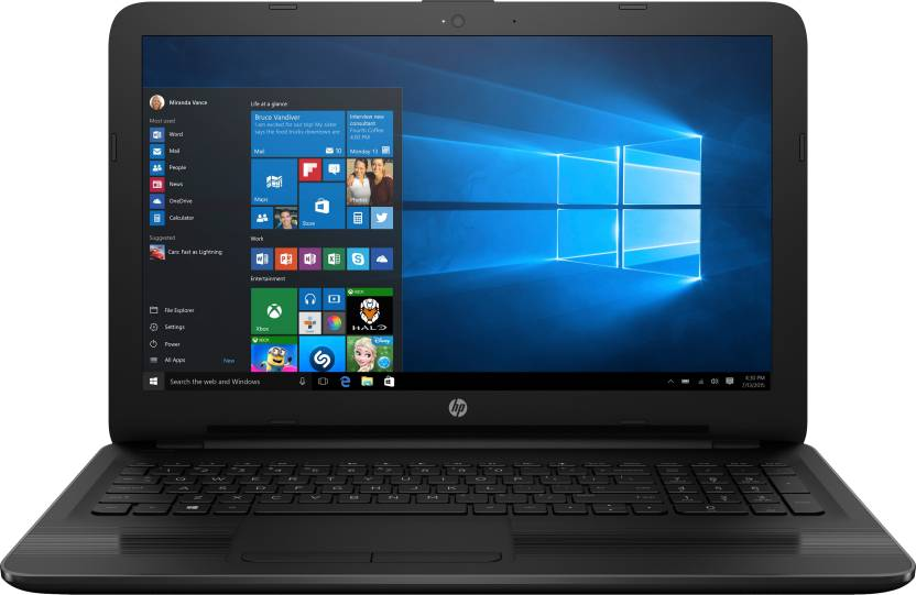 HP 15 Core i3 6th Gen - (4 GB/1 TB HDD/Windows 10 Home) 15-be014TU Laptop  (15.6 inch, Black, 2.19 kg)