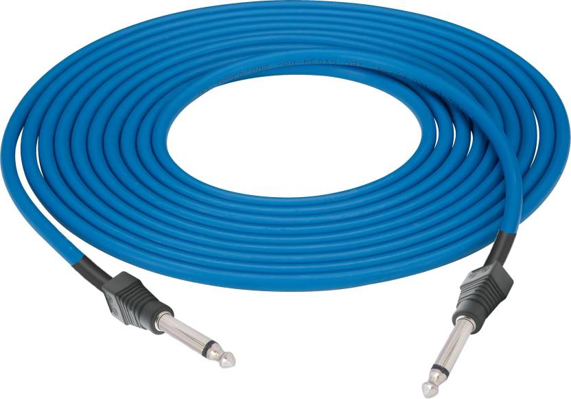 MX Guitar Instrument Cable 6.35mm Mono Jack Male To 6.35 mm Male 1.5 ...