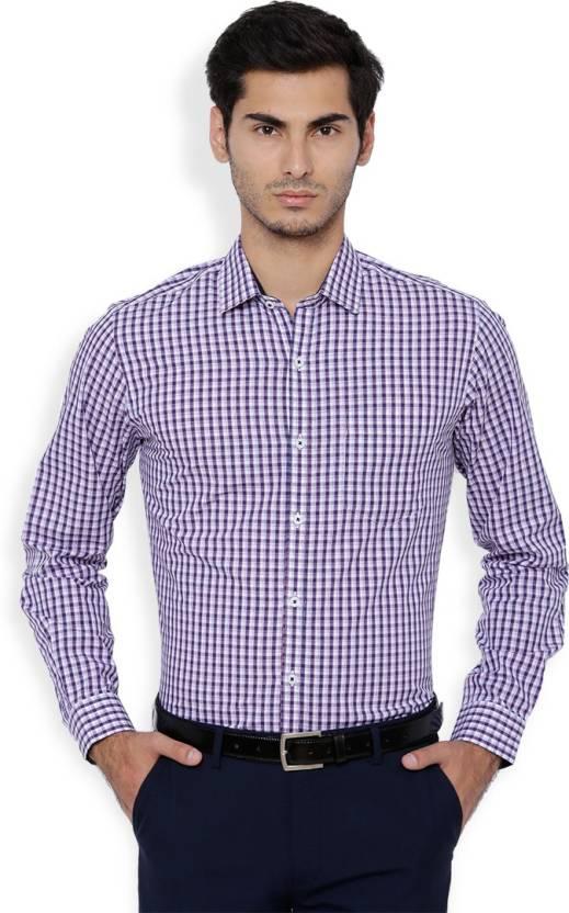 806e08d28fdc Black Coffee Men Checkered Formal Cut Away Shirt - Buy Black Coffee ...