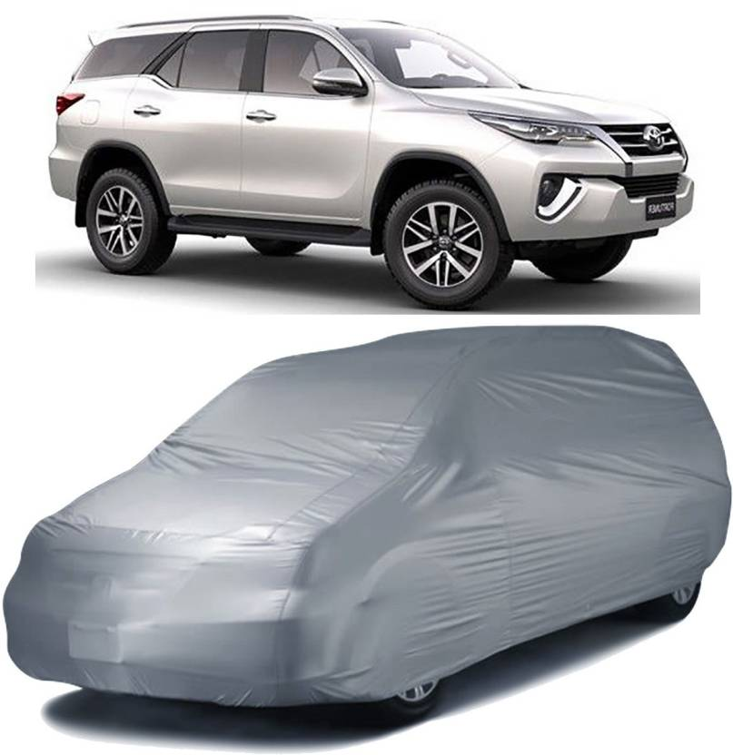 Autofurnish Car Cover For Toyota Fortuner Without Mirror Pockets