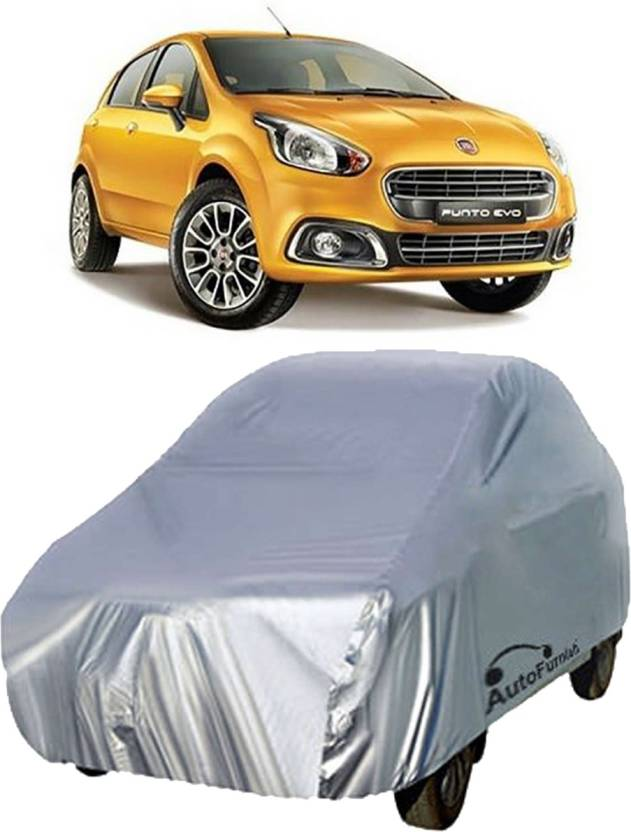 Autofurnish Car Cover For Fiat Punto Evo (Without Mirror Pockets)