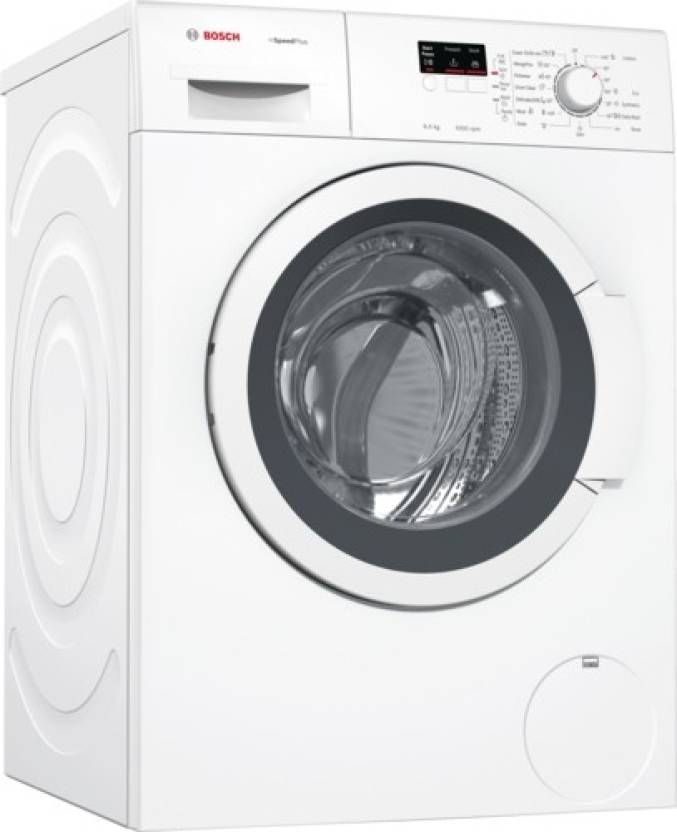 Bosch 6.5 kg Fully Automatic Front Load Washing Machine White