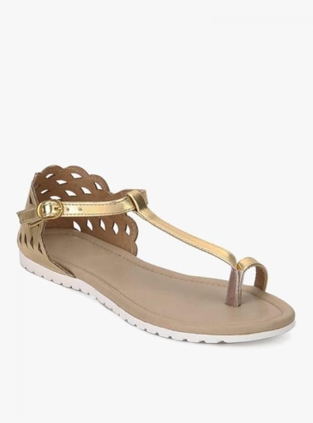 4023d982f Glitzy Galz Women Golden Flats - Buy Glitzy Galz Women Golden Flats Online  at Best Price - Shop Online for Footwears in India
