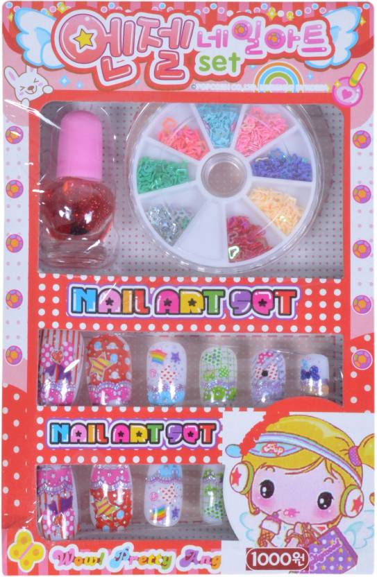 Sn Toy Zone Kids Nail Art Set Kids Nail Art Set Shop For Sn Toy