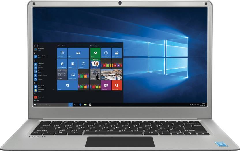 Lava Helium 14 Atom Quad Core - (2 GB/32 GB EMMC Storage/Windows 10 Home) C141 Laptop(14.1 inch, Silver, 1.45 kg)