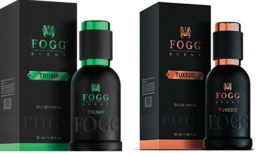 Fogg COMBO PACK OF FOGG TRUMP SCENT FOR MEN + FOGG TUXEDO SCENT FOR MEN  Perfume Body Spray - For Men