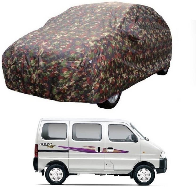Motrox Car Cover For Maruti Suzuki Eeco With Mirror Pockets Price