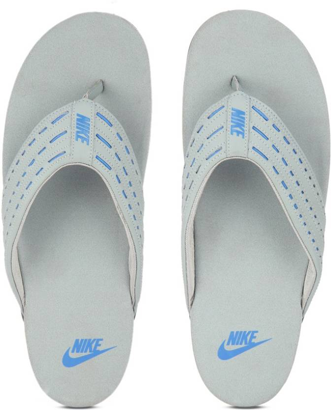 ae33f25c85be5e Nike KEESO THONG Flip Flops - Buy Shark Photo Blue-Hasta Color Nike KEESO THONG  Flip Flops Online at Best Price - Shop Online for Footwears in India ...