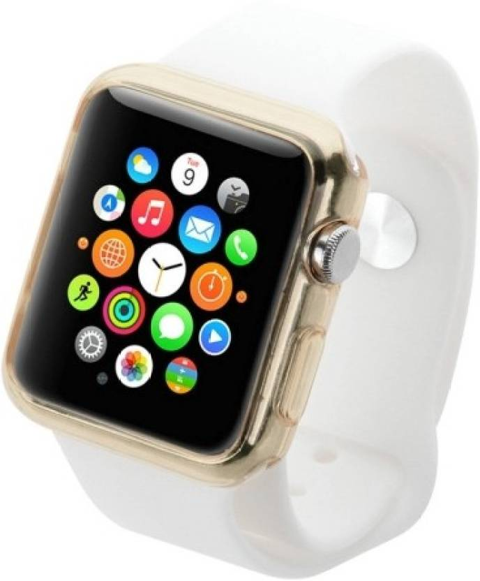 Haweel Back Cover for Apple Watch 38mm (Gold, Plastic)