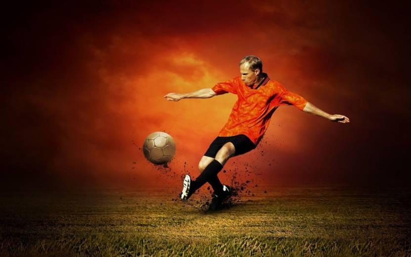 myimage cool soccer sports digital printing print on cloth canvas