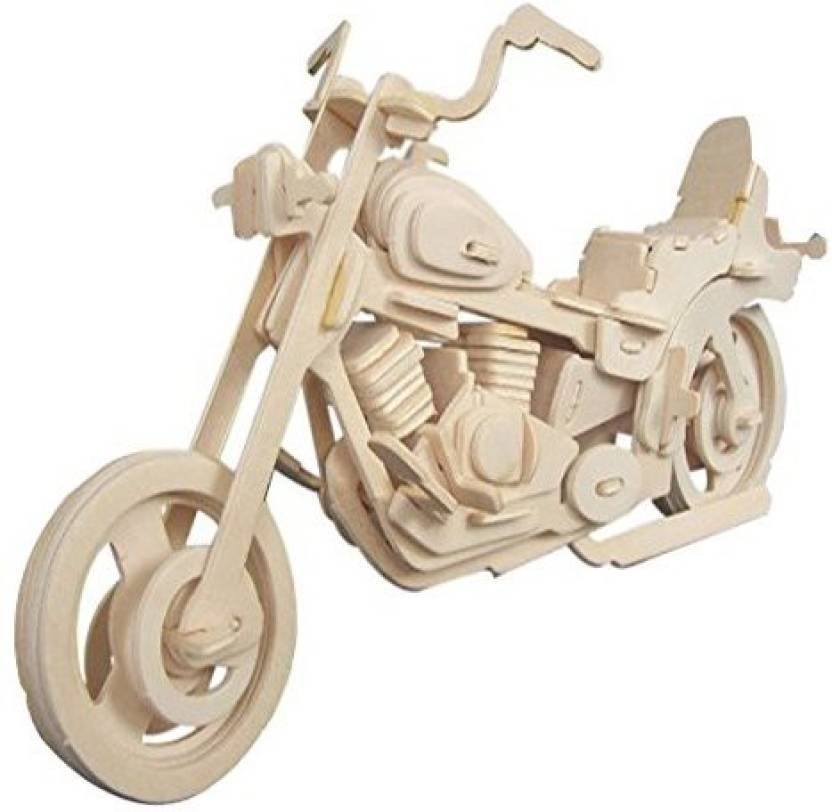 smilelove motorcycle hd jigsaw puzzle 3d wooden puzzle for kids