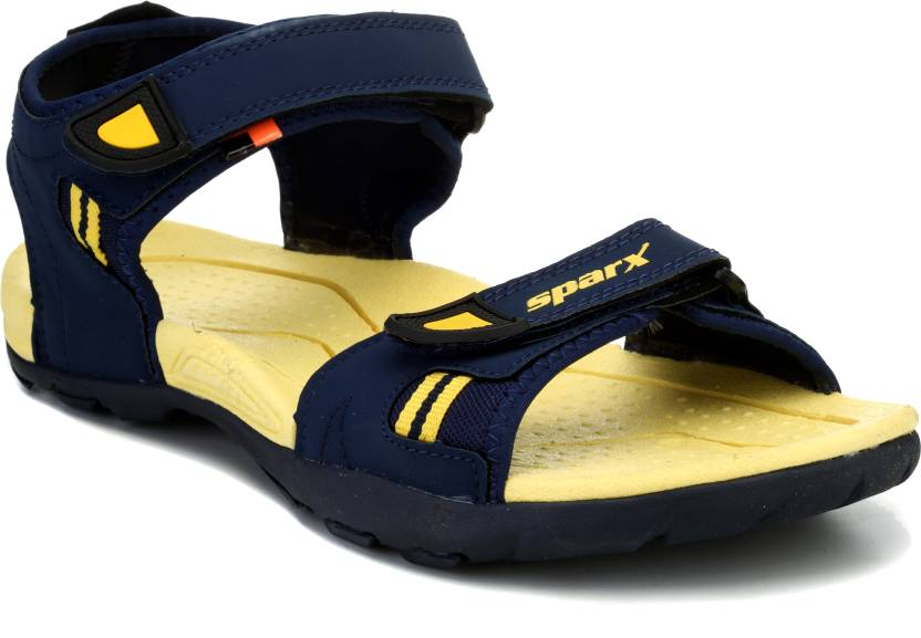 c445a3936d1 Sparx Men Navy Blue Yellow Sandals - Buy Navy Blue Yellow Color Sparx Men  Navy Blue Yellow Sandals Online at Best Price - Shop Online for Footwears  in India ...