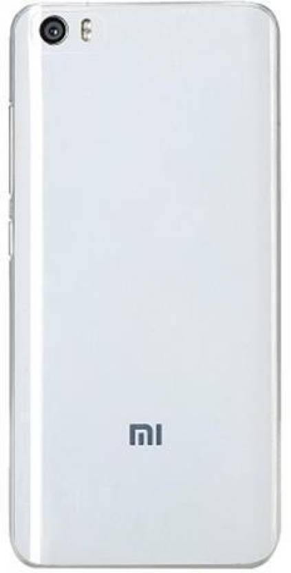 promo code 0ecb8 b8c63 Maverick New Replacement Battery Back Cover For Xiaomi Mi 5- White Back  Panel