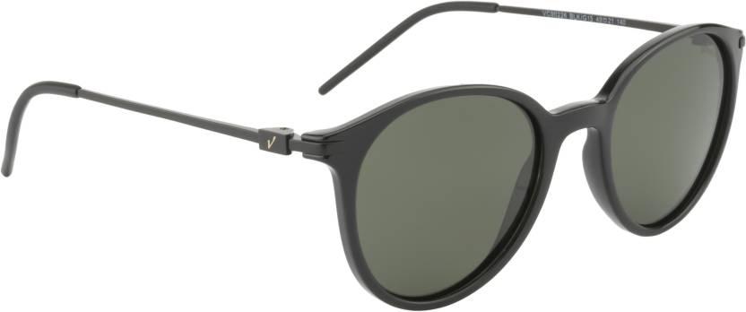 4ad4c0f194dd Buy Velocity Round Sunglasses Green For Men   Women Online   Best ...