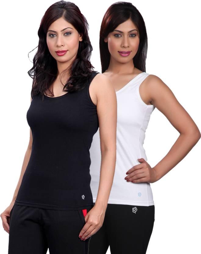 6bb921a1ba894 Selfcare Women s Tank Top Vest - Buy Black