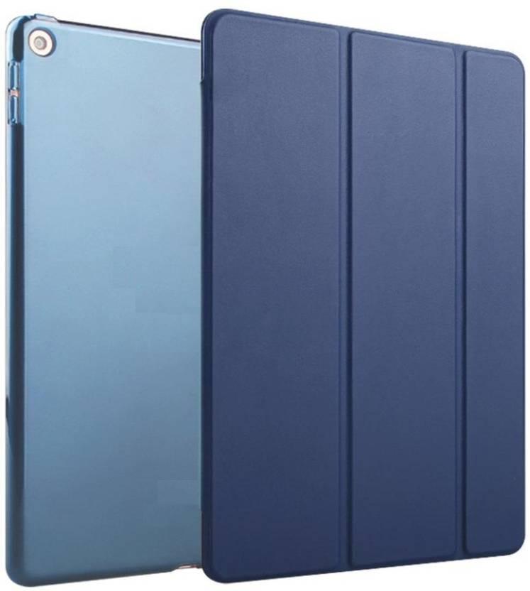 MOCA Flip Cover for Xiaomi Mi Pad 3 / MiPad 3 case Premium ultra thin  Auto wake/sleep  Smart flip cover case, Stand Deep Blue