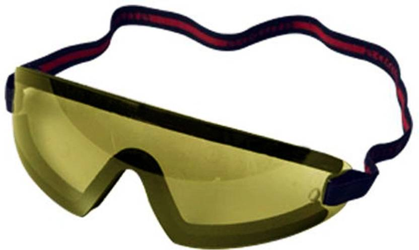5a0fe2b839 AdroitZ Exclusive Gliders Biker Glass Sports Driving Goggles ( Yellow )  Cycling Goggles (Yellow)