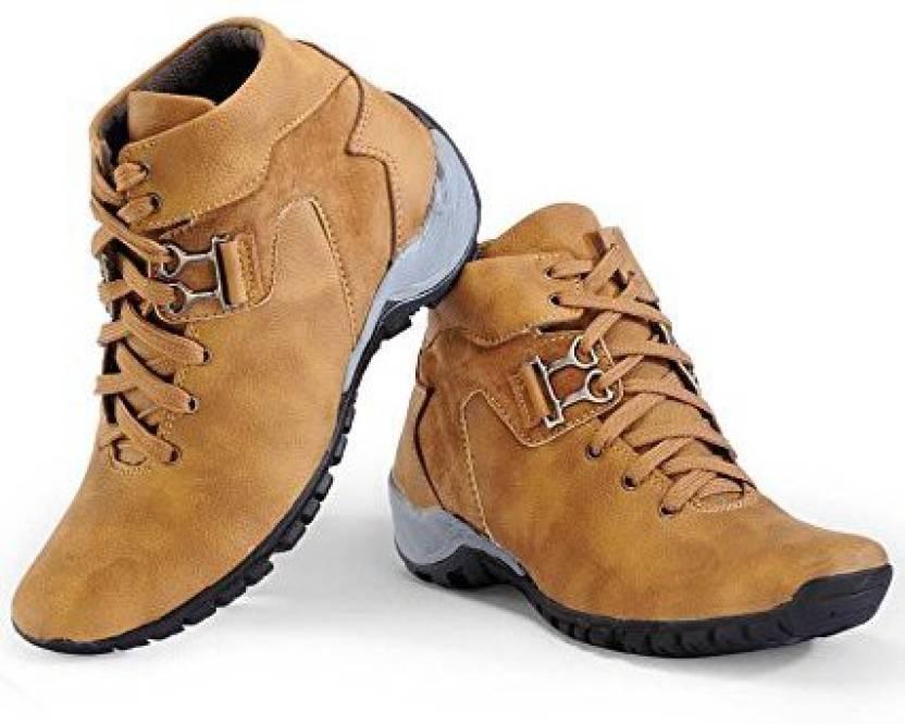 24ac6ceb734 TR Cowboy Men Casual Partywear Boots Boots For Men