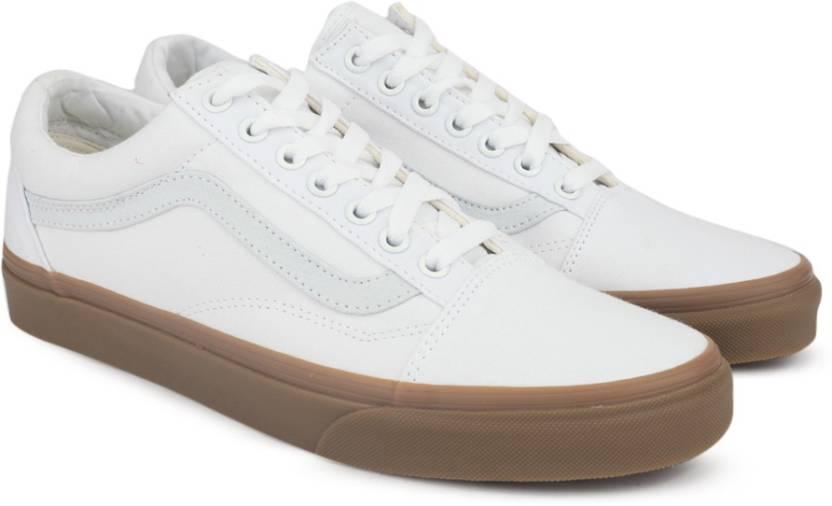Vans OLD SKOOL Sneakers For Men - Buy (CANVAS GUM) TRUE WHITE LIGHT ... efdc5b8ae