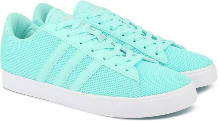 reputable site 44c1c ba62d ADIDAS NEO CF DAILY QT W Sneakers For Women (Green)