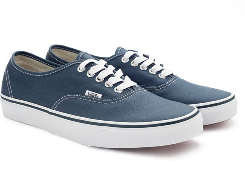 8732ae71e0 Vans AUTHENTIC Sneakers For Men - Buy (CANVAS) DARK SLATE TRUE WHITE ...