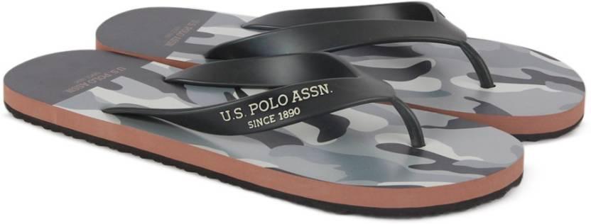 80433ef67052ea U.S. Polo Assn Deck Slippers - Buy Grey Color U.S. Polo Assn Deck ...