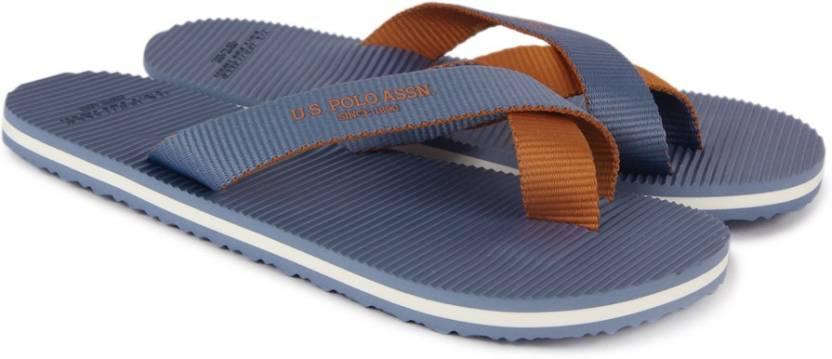 c098bf8d2e839 U.S. Polo Assn Jackson Slippers - Buy Blue Color U.S. Polo Assn ...