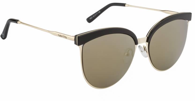7864f8382 Buy Hello Kitty Cat-eye Sunglasses Grey, Golden For Women Online ...