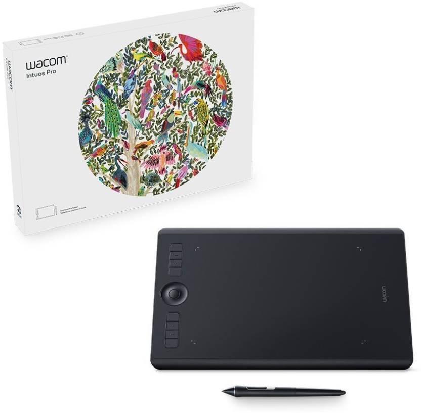 WACOM intuos pro medium PTH660/KO-CX 13 3 x 8 6 inch Graphics Tablet