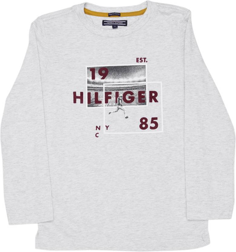 Tommy Hilfiger Boys Printed T Shirt Price in India Buy